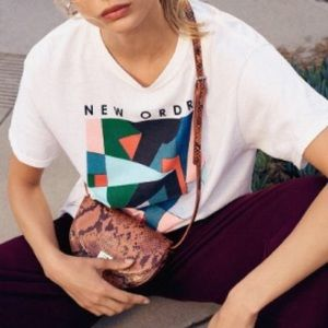 New Order Oversized Band T Shirt l/xl